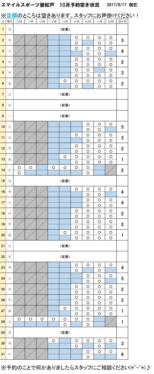 スポーツ塾松戸10月空き状況9月17日現在.png